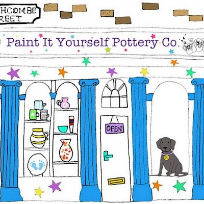 Paint-It-Yourself Pottery