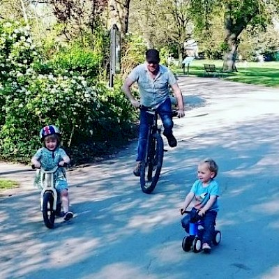 Wheelie Good Fun for Families at the Cheltenham Festival of Cycling
