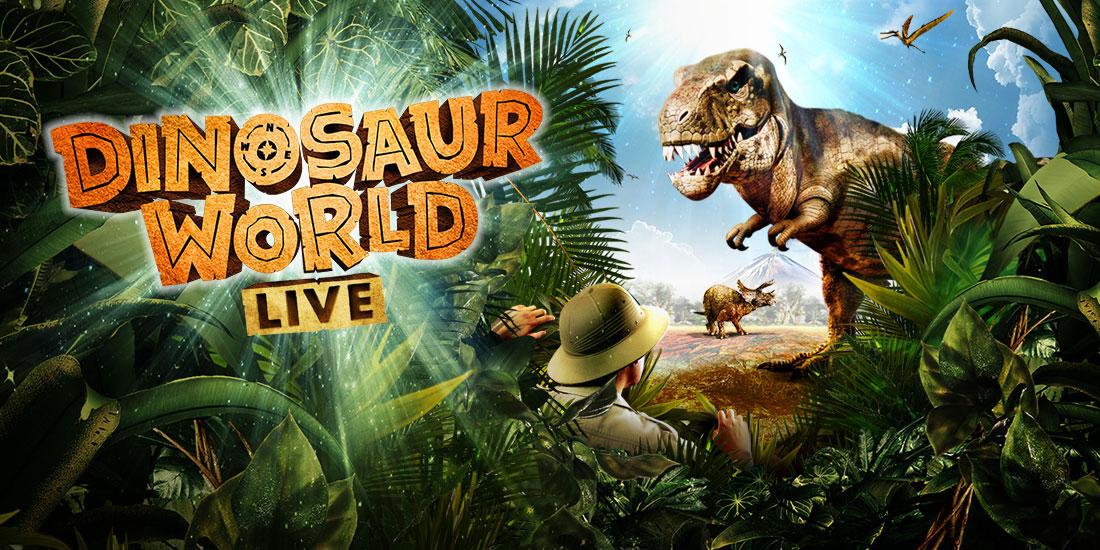 Image result for Dinosaur World Live