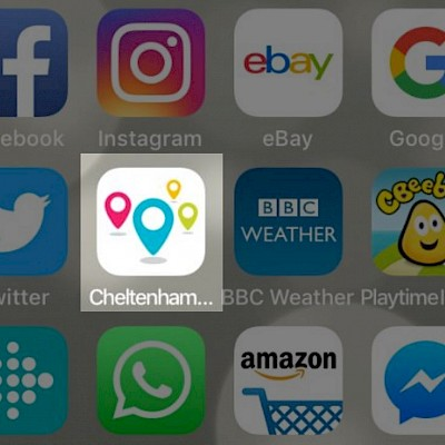Cheltenham Rocks App for Easter Events and Activities