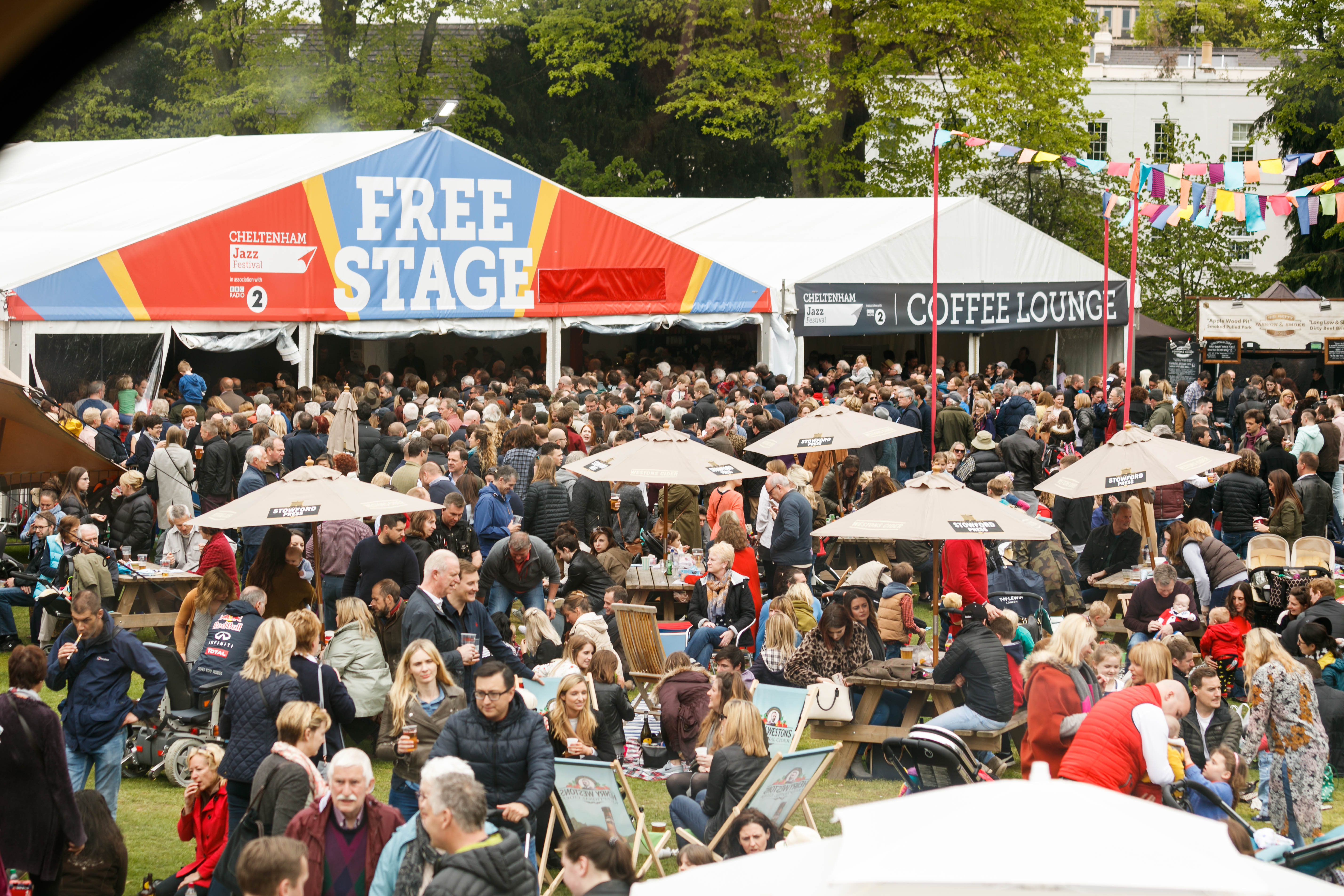 Cheltenham Jazz Festival Free Events - Around The Town